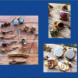 Jewelry Brooch Stick Pin Cuff Links Lot Price Firm